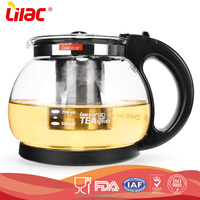 new hot sale eco-friendly Heat Resistant borosilicate double wall glass teapot