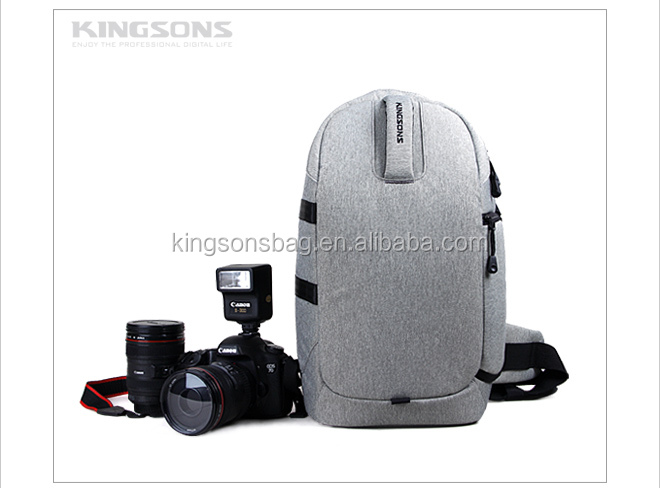 2014 Newest Stylish DSLR Bag High Quality Canvas Camera Backpack K8721