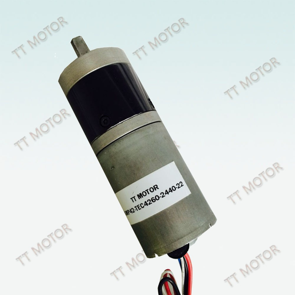 100 watt dc brushless gear motor with 42mm OD