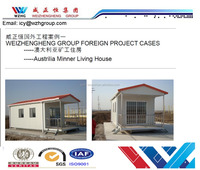 Good apperance, high quality prefab house with bedrooms, beautiful villa with balcony export to Australia