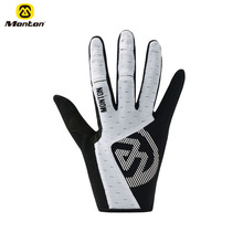 Monton New Soft Long Finger Gloves Outdoor Sports Custom Bike Bicycle Cycling Gloves