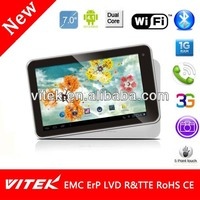 New Dual Core IPS camera best price 7 inch free android games download tablet pc