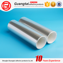 single side optical clear adhesive silicone coated pet film roll for self adhesive label