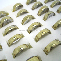 Fashion women Stainless Steel Rings jewelry cheap gold rings china wholesale alibaba