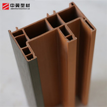 White full color co-extrusion UPVC window frame profiles