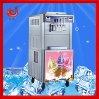 new arrival 2+1 flavor ice cream maker for sale