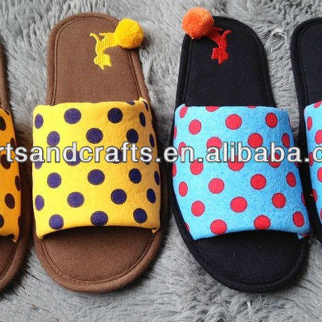 cute cat plush ball korea home slipper