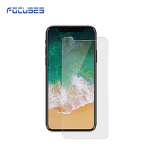 Tempered glass screen protector shenzhen 2.5d 9h toughened glass for iphone x screen protector guard
