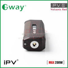 2016 new arrival100% original ipv8 box mod 230w tc box mod vs fuchai 200w vs ipv5