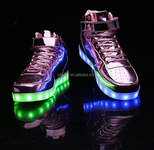 Fashion LED Light Shoes EUR Size 25-37 Cheap kids light up shoes
