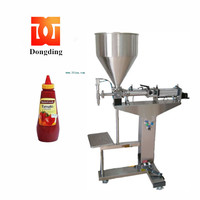 pneumatic vertical thick paste whitening cream filling machine