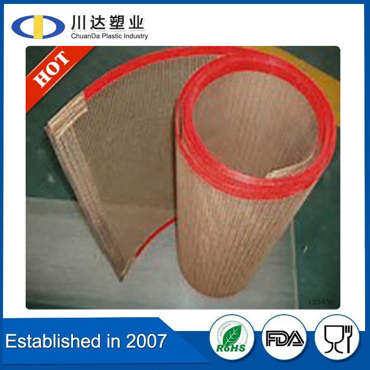 China Supplier Cheaper PTFE seam fusing machine belt/Teflon Fushing or Seam Machine Belt