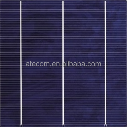 Efficiency Poly Multi Solar Cell 3BB 4BB