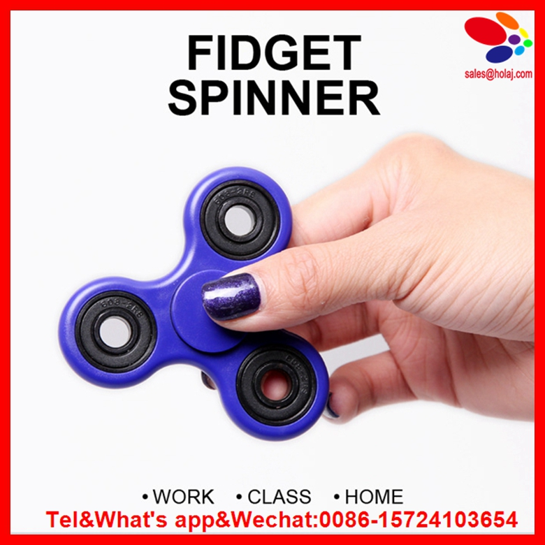 New Creative Fidget Spinner Desk Anti Stress Finger Spin Spinning Top EDC Sensory Toy Cube Gift for Children Kid
