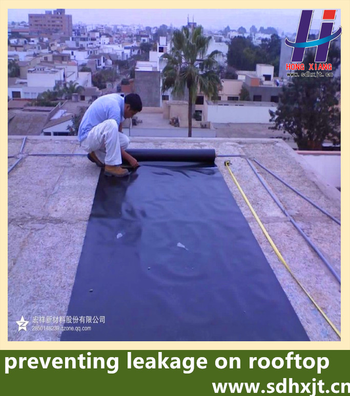HDPE recycled roofing seepage control waterproofing <strong>membrane</strong>