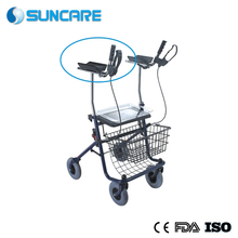 Hospital Steel Medical Rollator Walking Aids For Disabled