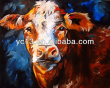 new arrival 100%handmade beautiful animal oil painting