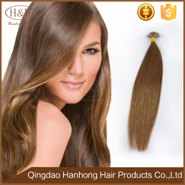 2016 Best Selling Wholesale Factory Cuticles Remy Hair Tangle Free No Shedding Cheap I Tip Stick Keratin Human Hair Extension