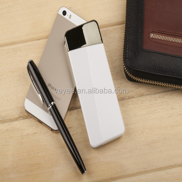 portable slim power bank for promotions,credit card battery super slim power bank, powerbank wallet