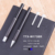 Business Writing Gift Luxury metal ball pen set with carbon fibre for men