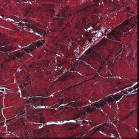 New design porcelain full glazed red marble floor tile 2'x2'