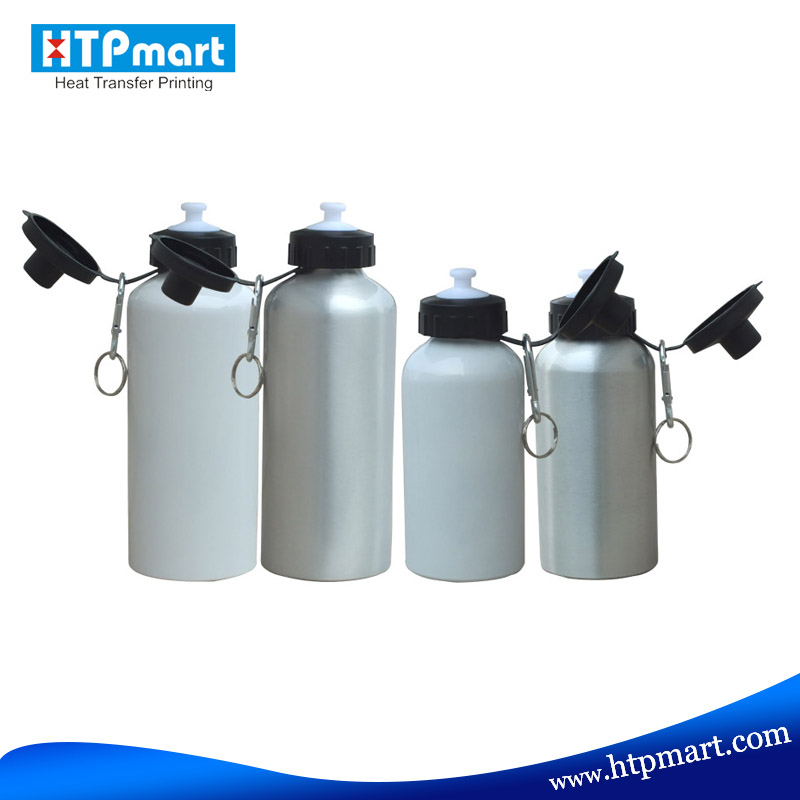 Sublimation aluminium vacuum insulated water bottle for heat transfer printing
