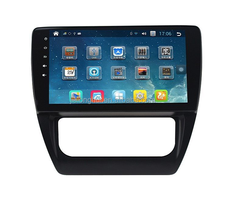 "10.1"" Pure Android Touch Screen Car Radio for VW Sagita Jetta Car GPS 3G WIFI CANBUS Quad-Core RK3188 A9 Capacitive 1024x600"