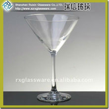 Hot sale lead free crystal martini glass