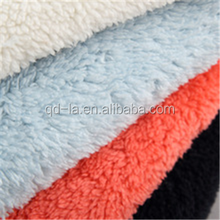 Garment shoes lining use faux lamb berber fleece fabric synthetic fur