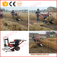 Wheat Diesel engine Wheat and Rice Reaper Binder/ Paddy rice harvesting and bundling