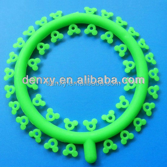 Different colors & kinds of orthodontic elastics ligature tie dental orthodontic ligature tie