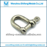 Marine Hardware Galvanized D Shackles European