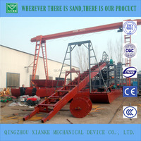 prices of river sand bucket chain mining dredgers for sale
