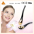 Mini gold plated cosmetic spatula spoon massage beauty applicator