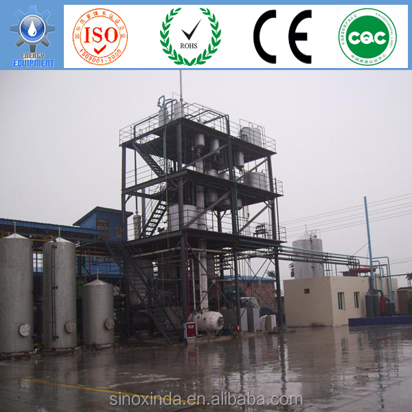 most complete renewable energy production plant making biodiesel from vegetable oil