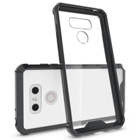 for LG G6 Clear Case,Reinforced Corner Protective Bumper for LG G6