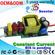 BIS 5-9w bulb driver open frame high pf isolate Constant Current LED Driver internal led driver 4-7w