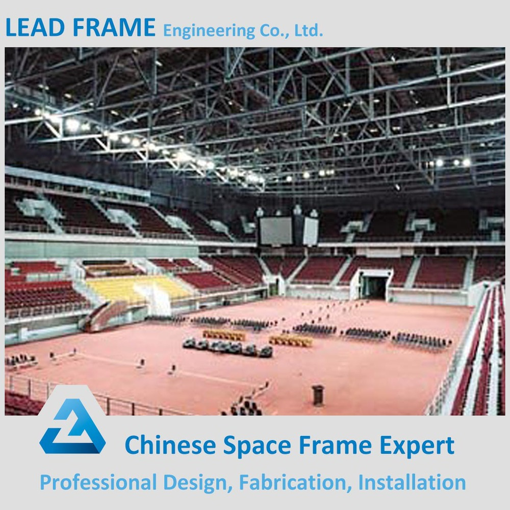 Free Modern Design Light Steel Frame Building Space Truss Structure for Indoor Stadium