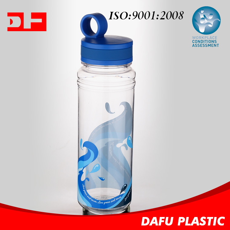 Hot Sale High Quality Colorful tritan water bottle plastic water bottle