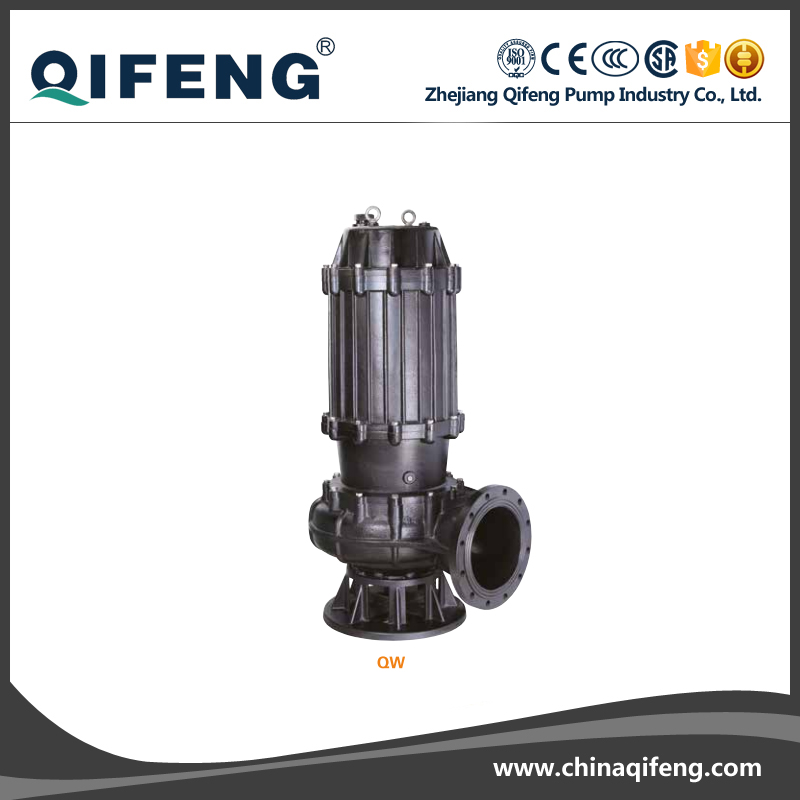 QW three phase submersible water pumps for high rise building