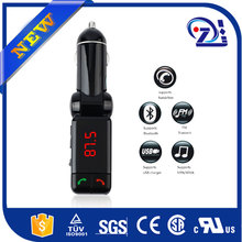 MP3 Player Bluetooth Wireless FM Modulator Transmitter SD/MMC/USB #EF