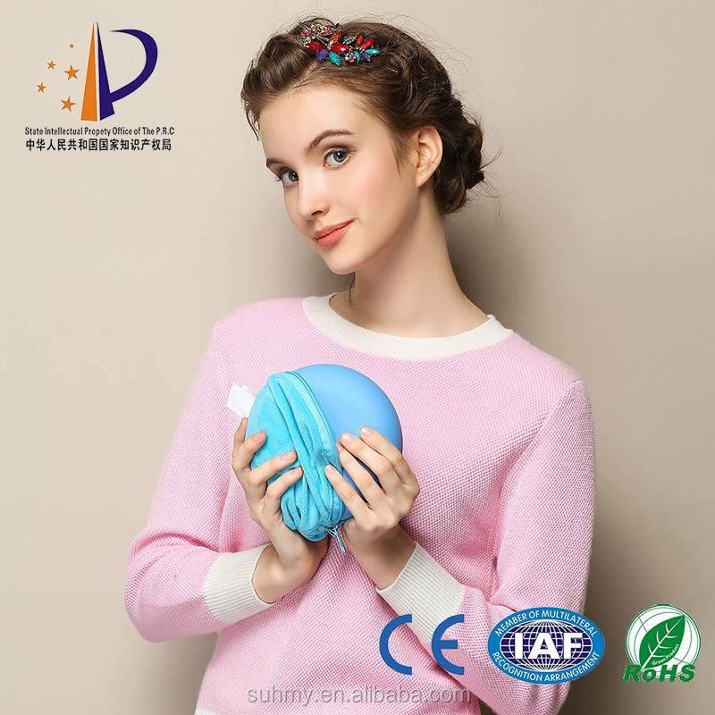 Ceramic disc hand warmer like function of hot water bottle cover warm for hand and foot
