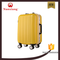 carry-on type aircraft wheels ABS+PC aluminum trolley luggage