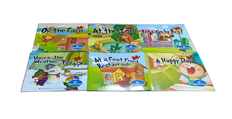 Baby English audio book with Talking Pen for learning ABC