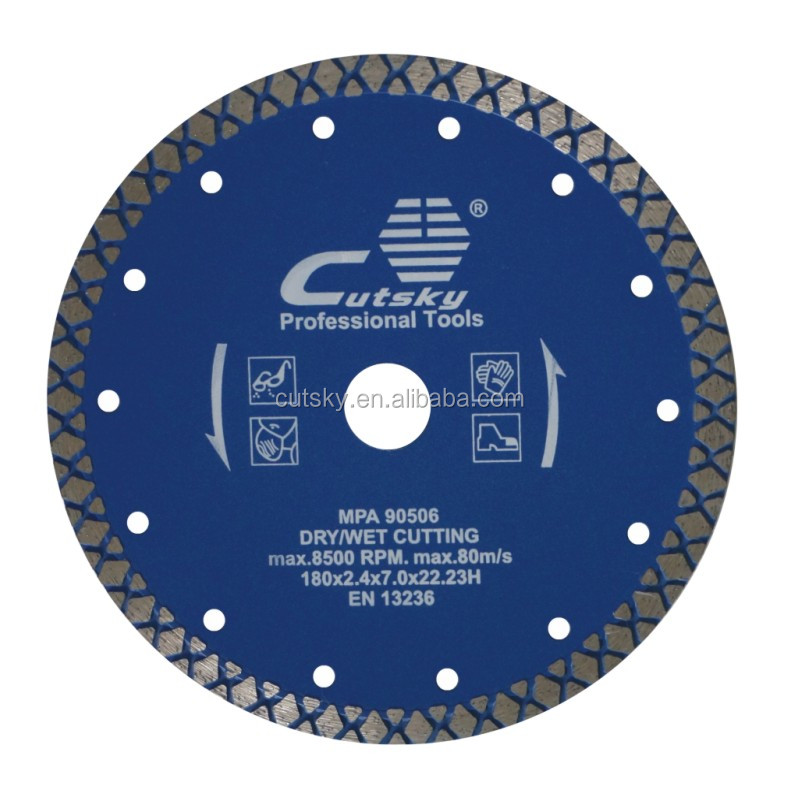 105mm diamond cut off blades for ceramic, tiles, glass, granite, concrete