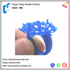 Custom prototype aluminum metal prototype cnc machining professional ring jewelry 3d model plastic and metal prototype