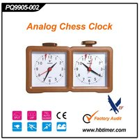 Analog quartz diamond chess clock