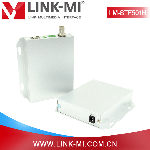 LINK-MI LM-STF501H SD/HD/3G SDI Fiber Optical Transmitter and Receiver Adapted SDI 270Mbps,1.485Gbit,2.97bitG Speed Rate