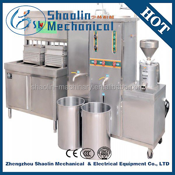 automatic stainless steel bean curd /tofu making machine with low noise, no pollution