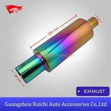 CHINA AUTO SPART FACTORY HI POWER STAINLESS UNIVERSAL EXHAUST MUFFLER FROM